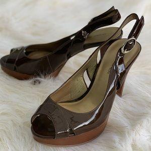 Marc Fisher peep toe heels size 5.5